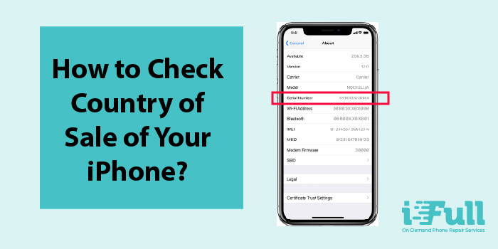 [Apple Tips] How to Check iPhone's Country of Sale ?