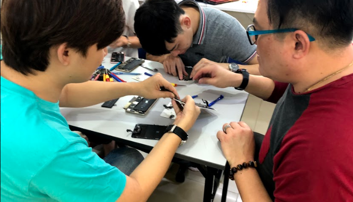 express iphone repair course kl
