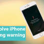 Ways to solve iPhone overheating warning