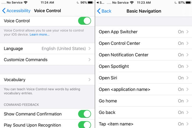 Apple iOS 13 New Voice-Assisted Control: No Hands-on Interaction