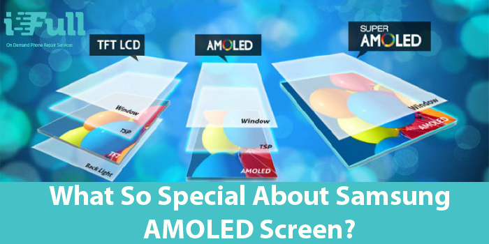 What so special about Samsung AMOLED Screen?